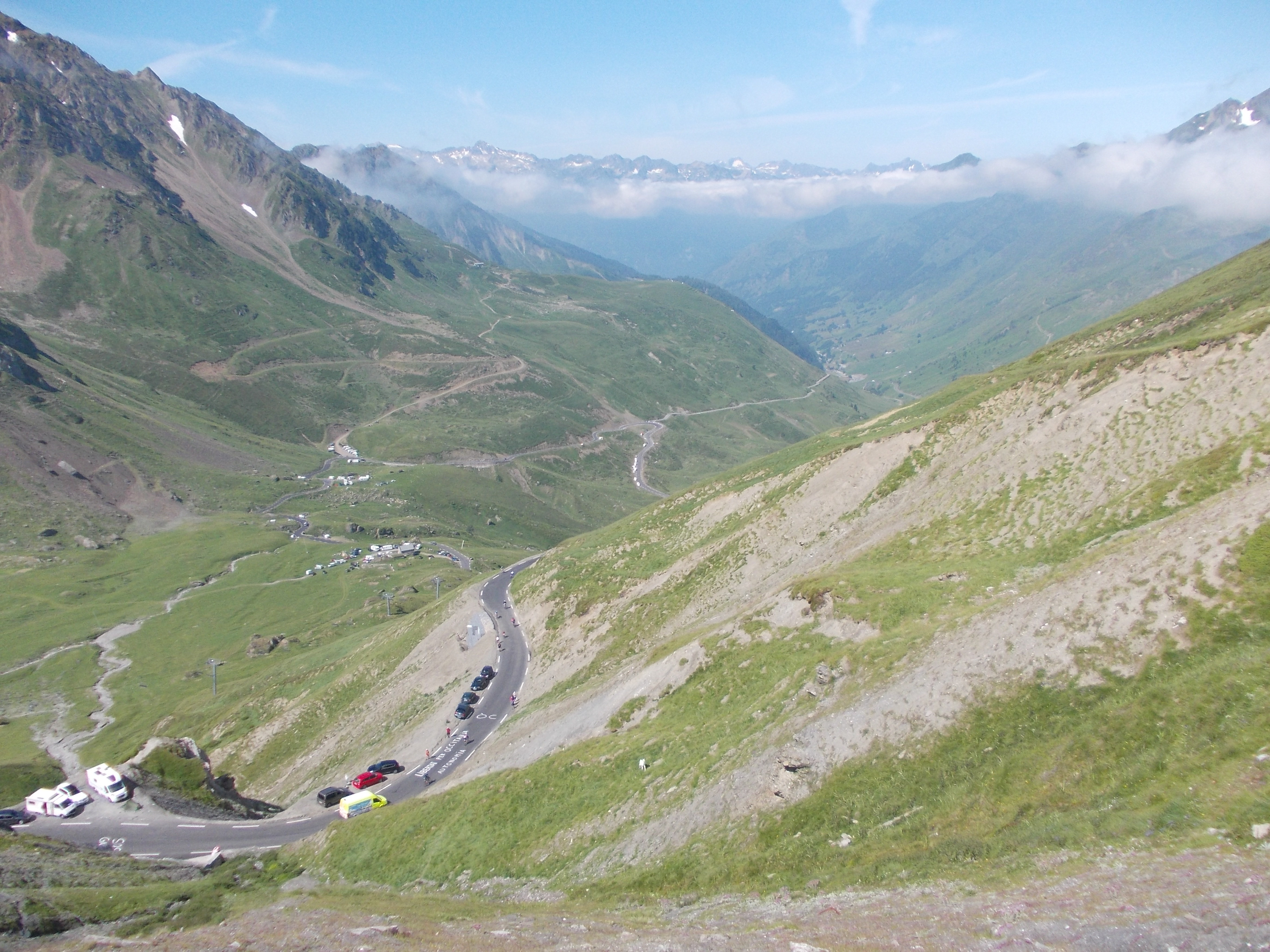 View from Tourmalet